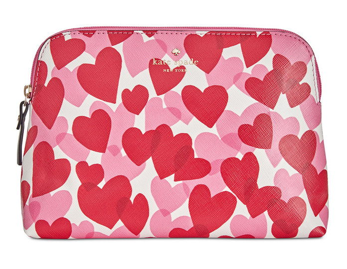 kate Spade Yours Truly Print Briley Small Cosmetic Bag