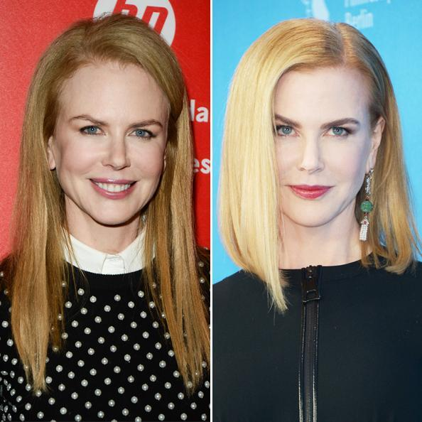 nicole Kidman Hair Transformation