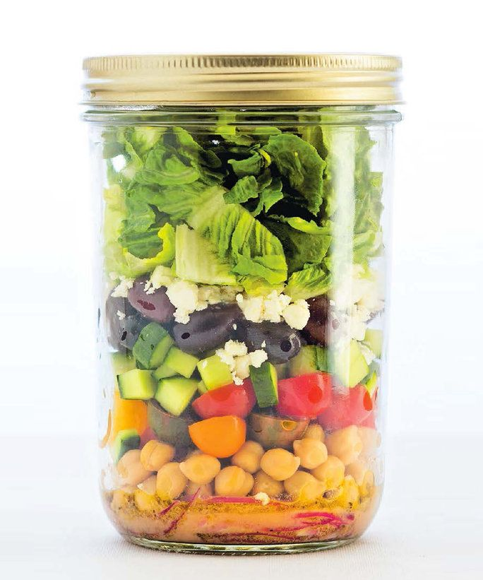 Salad in a Jar Lead