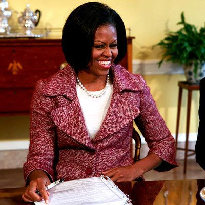 Michelle Obama in Peter Soronen - Michelle Obama Style Diary