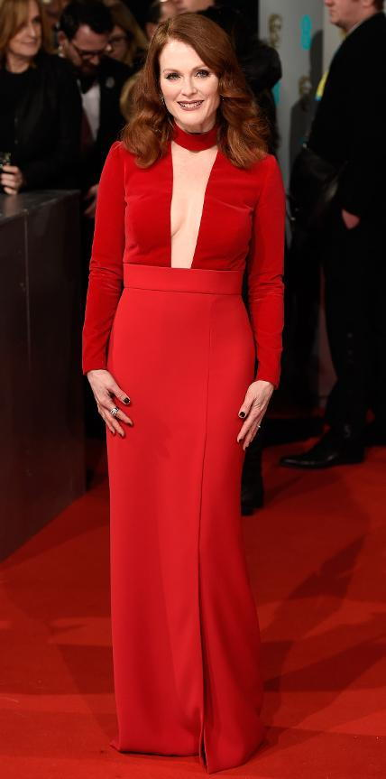 Julianne Moore in Tom Ford.