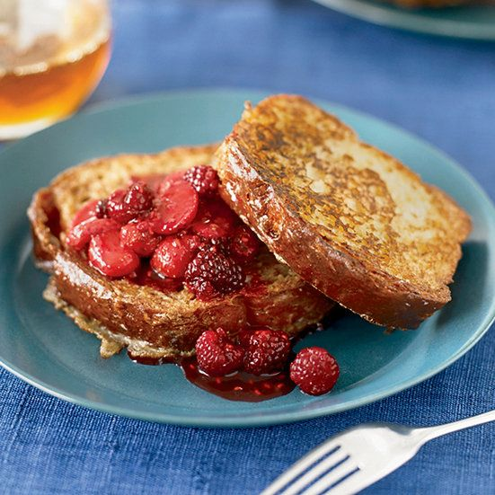 Brioche French Toast with Fresh Berry