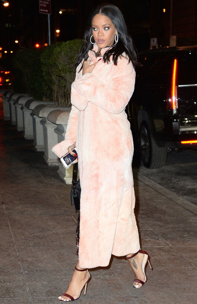 ona can pull off full-length fur