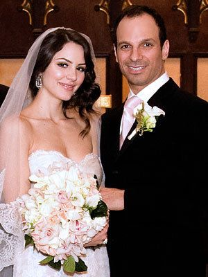 Stella Wedding Anniversaries - Katharine McPhee and Nick Cokas
