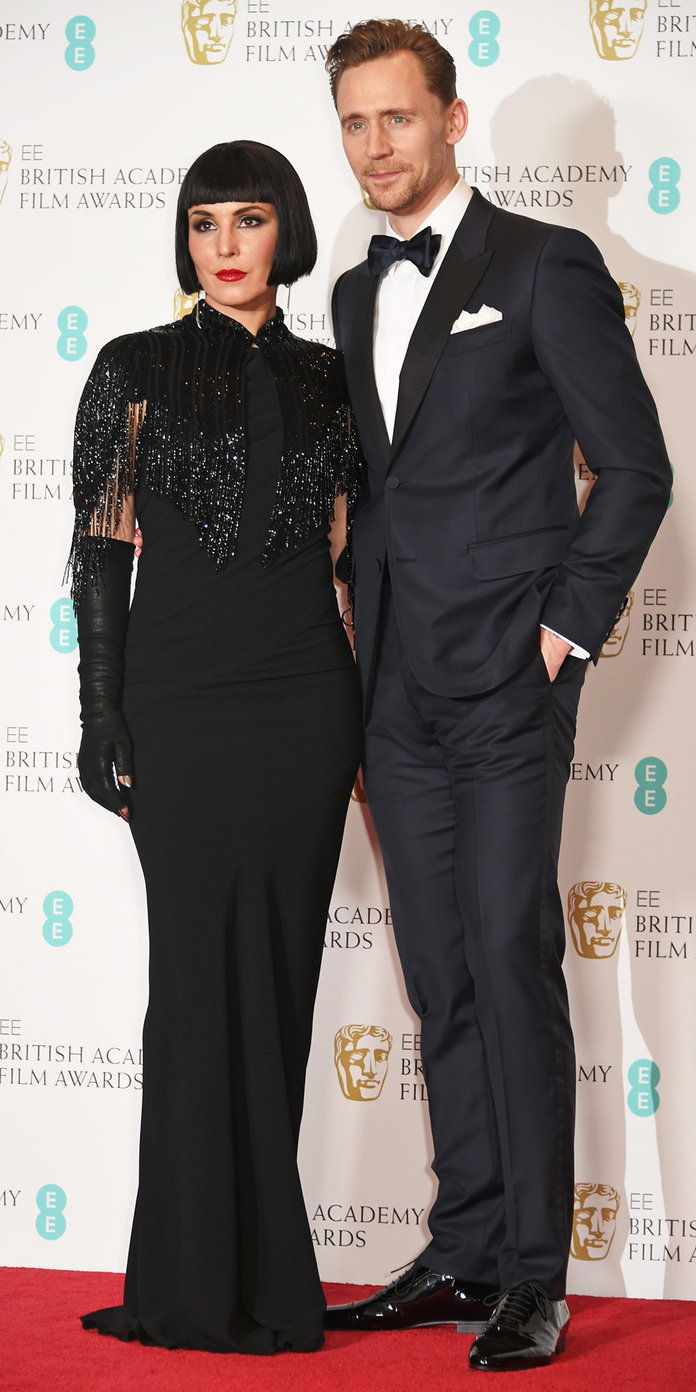 Tom Hiddleston with Noomi Rapace
