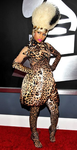 Nicki Minaj - Givenchy - Wild Grammy Looks
