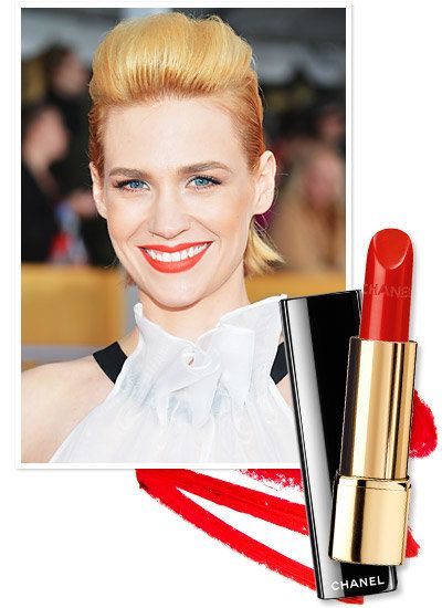 gennaio Jones's modern, orange-based lipstick