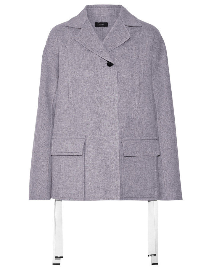 VLNA AND CASHMERE-BLEND COAT