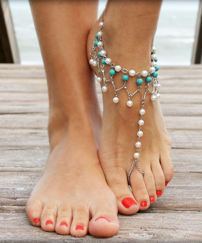 Unic Sandals Mermaid Gypsy Barefoot Sandals