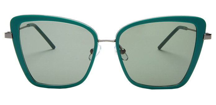 SQUARED CAT-EYE PROGRESSIVE SUNGLASSES
