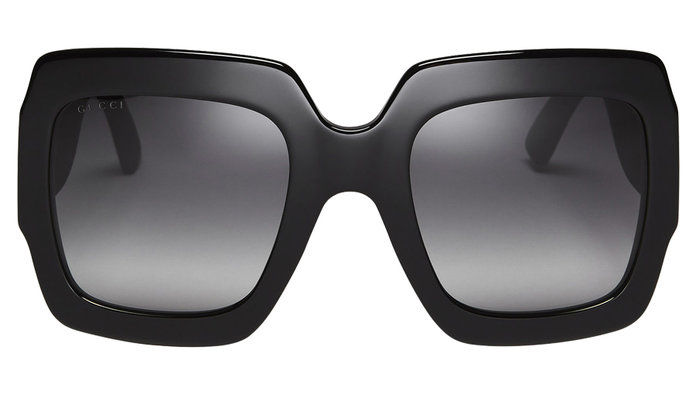 ligotali RUBBER SQUARE SUNGLASSES
