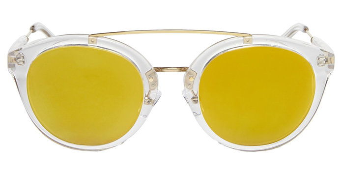 KOLO OVERSIZED MIRRORED SUNGLASSES