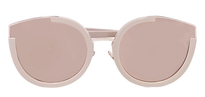 nadrozmerné CAT-EYE ACETATE SUNGLASSES