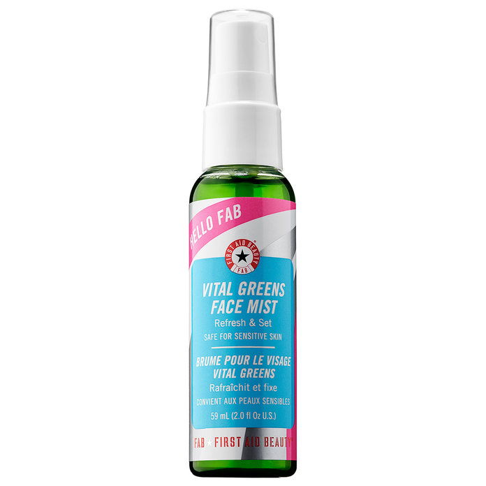 NAJPRV AID BEAUTY Hello FAB Vital Greens Face Mist
