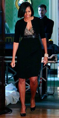 Michelle Obama in Jason Wu - Michelle Obama Style Diary