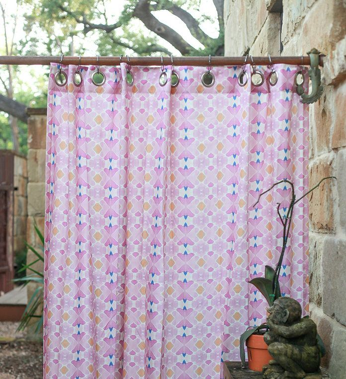 Casa Blanca Shower Curtain