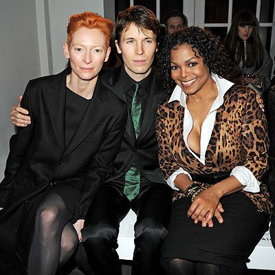 Tilda Swinton, Ryan McGinley and Janet Jackson