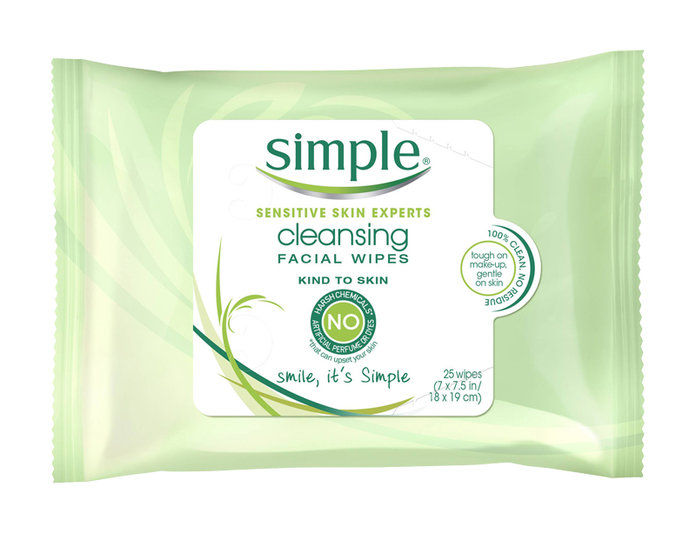 prostý Cleansing Wipes