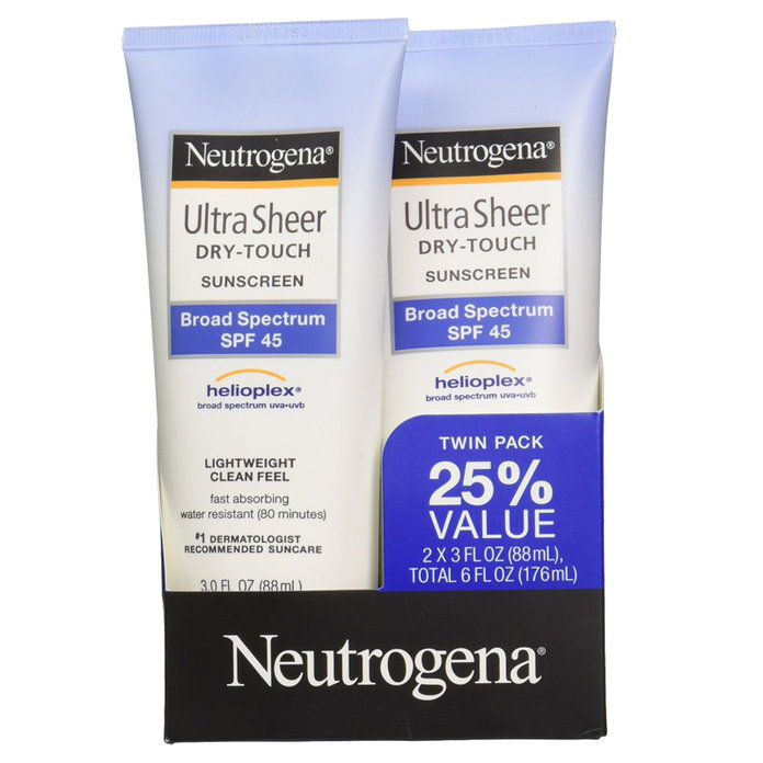 Neutrogena Ultra Sheer Dry-Touch Sunscreen Broad Spectrum SPF 45