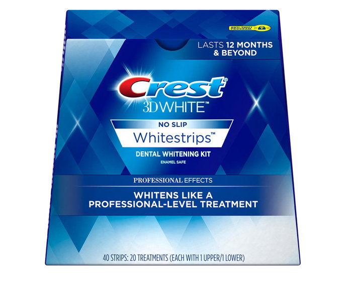 hrebeň 3D White Professional Effects Whitestrips