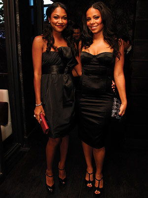 Sanaa Lathan, 2008 Academy Awards, In Style Oscars Viewing Party