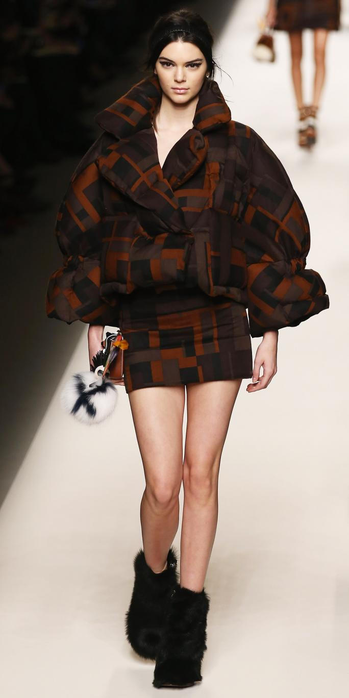 Fendi - Runway & Close-ups - MFW FW2015