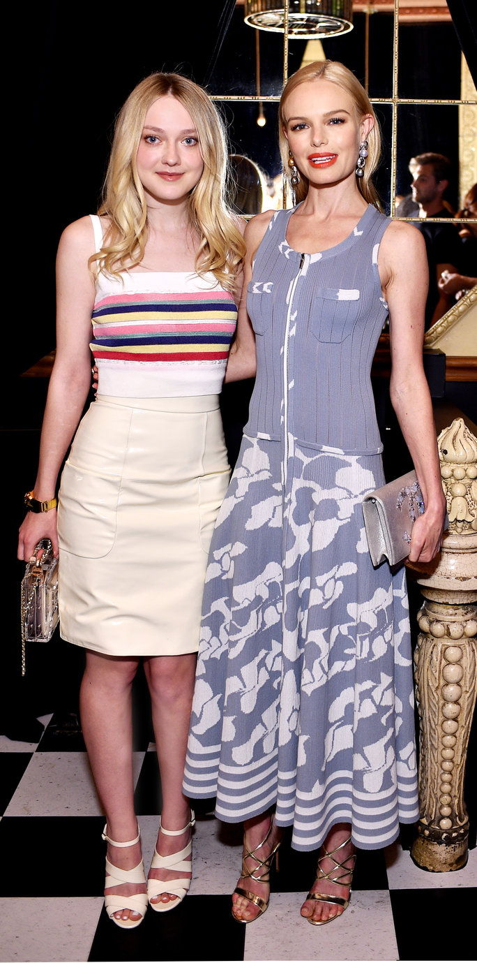 Dakota Fanning and Kate Bosworth