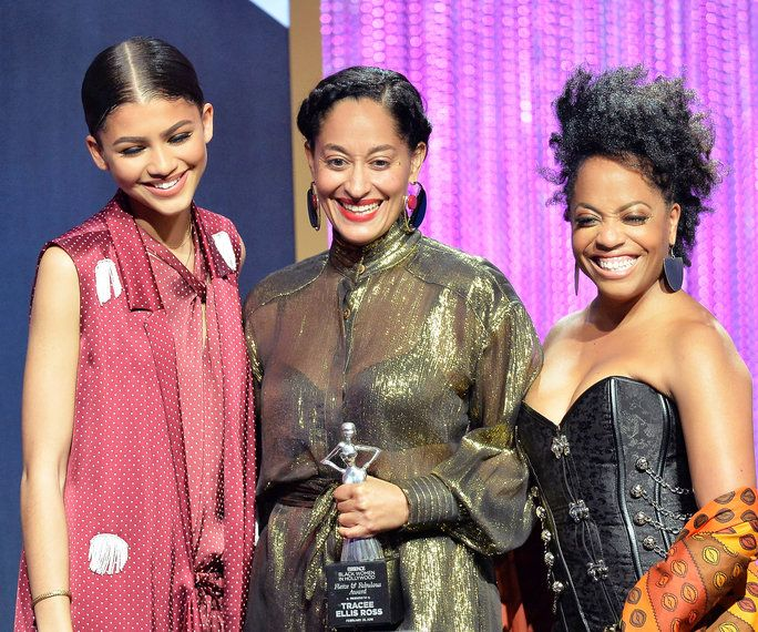 Zendaya, Tracee Ellis Ross, and Rhonda Ross Kendrick