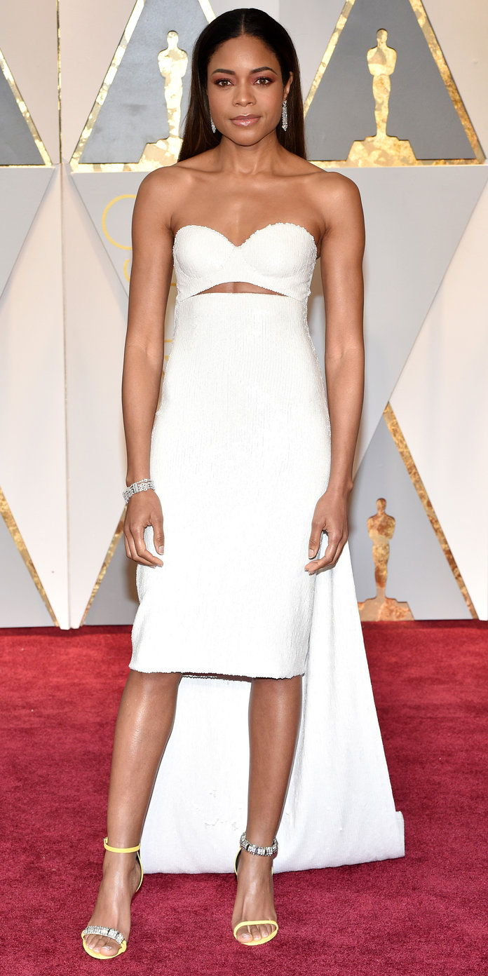 Naomie Harris in Calvin Klein By Appointment