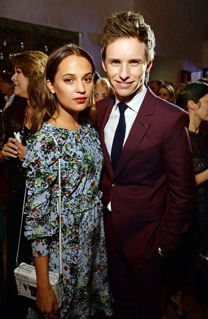 Alicia Vikander and Eddie Redmayne