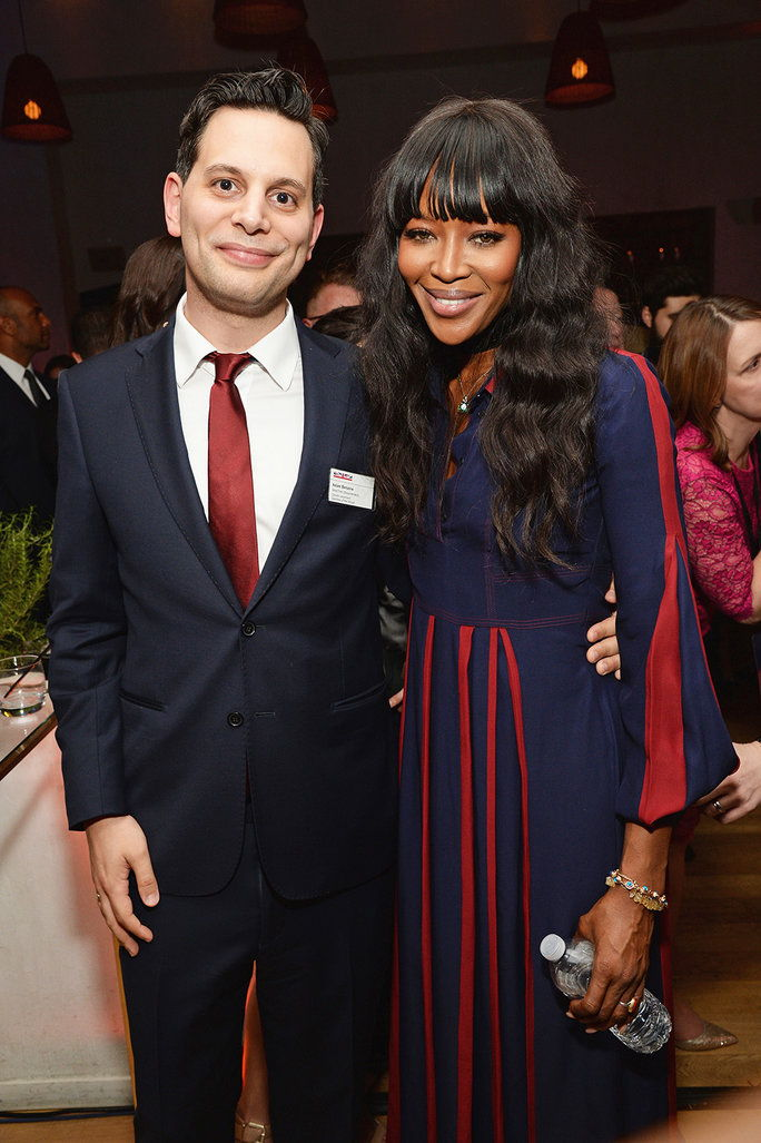 Naomi Campbell and Adam Benzine