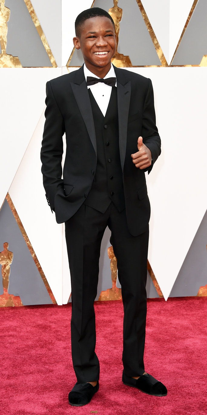 Abraham Attah at the Oscars 2016
