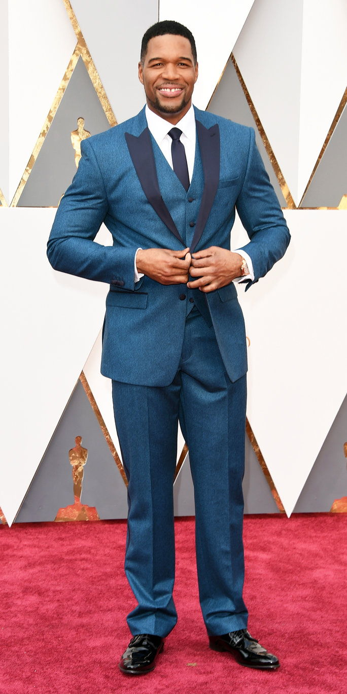 michal Strahan at the Oscars 2016