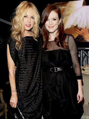 Milano Fashion Week - Rachel Zoe and Julianne Moore - Bulgari Chandra Event