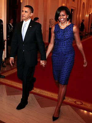 Michelle Obama Style Diary - Michelle Obama in Jason Wu