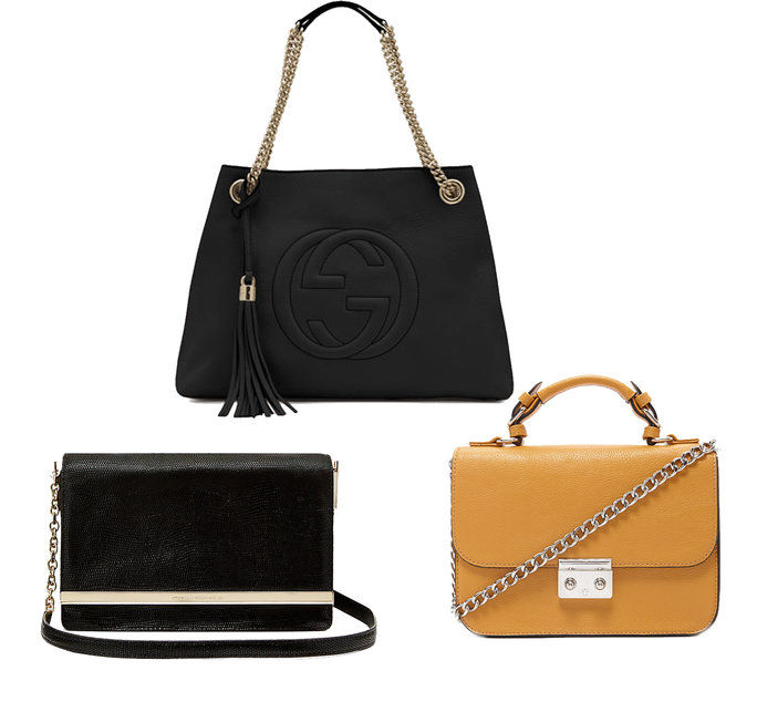 Borsa Guide - Chain handbags - shoppable links