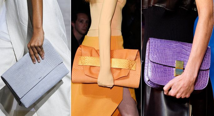 Borsa Guide - Clutches - runway
