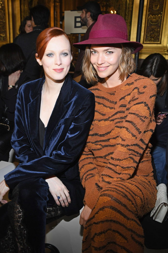 Karen Elson and Arizona Muse
