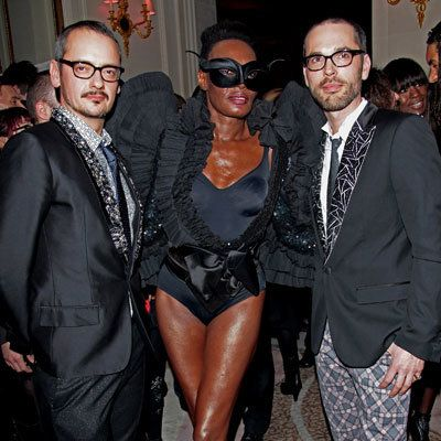 Rolf Snoeren, Grace Jones and Viktor Horsting