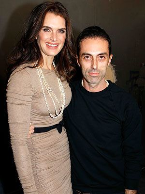 Brooke Shields and Giambattista Valli