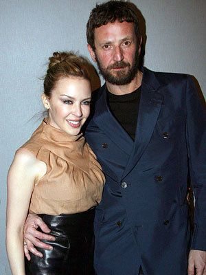 Kylie Minogue and Stefano Pilati