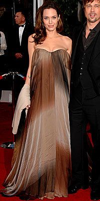 angelina jolie; prom dress; cheap dresses; formal gowns; ombre