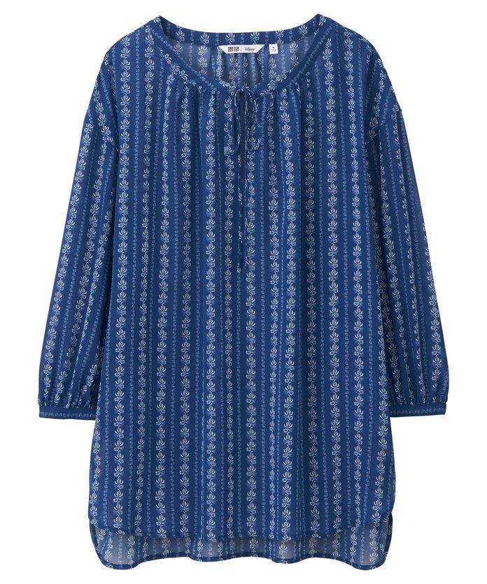 vy'll look just like provincial Belle in this floaty top.