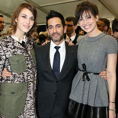 Parigi Fashion Week - Alexa Chung, Marc Jacobs and Daisy Lowe - Louis Vuitton
