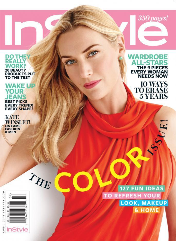 În stil April 2015 Cover Kate Winslet