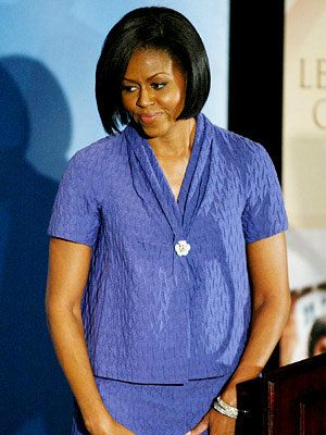 Michelle Obama in Moschino - Michelle Obama Style Diary