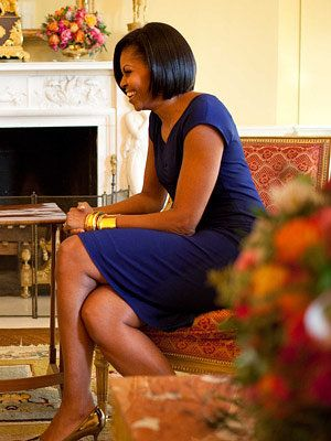 Michelle Obama Style Diary - Michelle Obama - Narciso Rodriguez