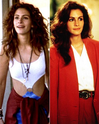 Cantik Woman - Julia Roberts - Best Movie Makeovers