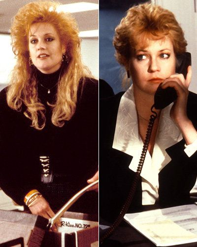 Melanie Griffith - Working Girl - Movie Makeovers