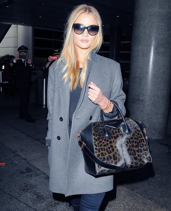 Rosie Huntington-Whiteley with Givenchy